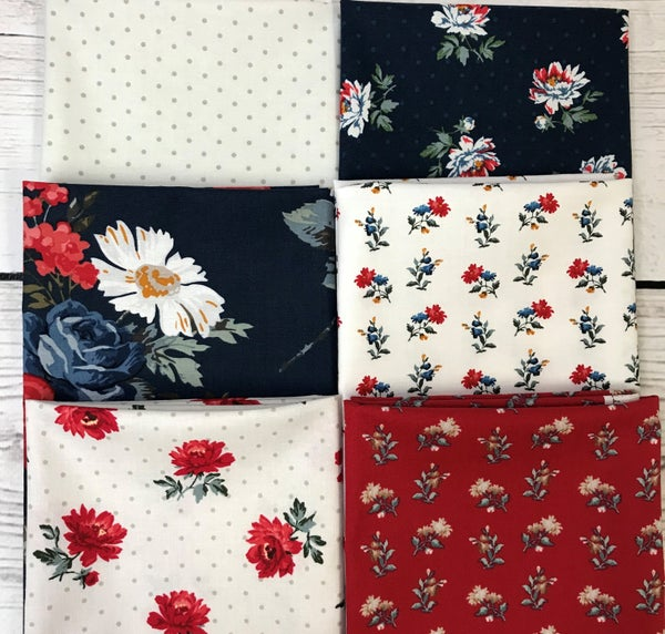 Fat Quarter Bundle (6) Camilla Rose
