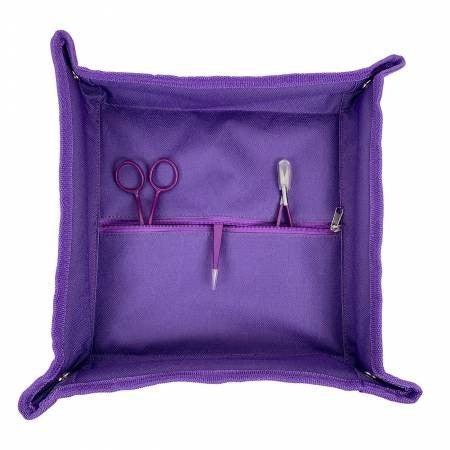 "Tote Trivet Purple Solid 13"" x 13"""