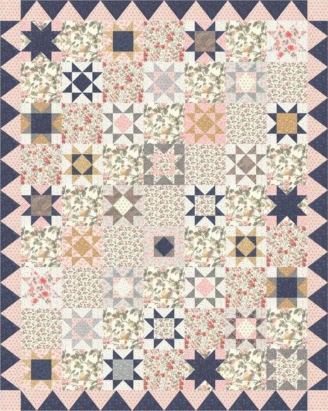 "Moda Daybreak Quilt Kit 64"" x 80"" (Inc. fabric, binding & Pattern)"