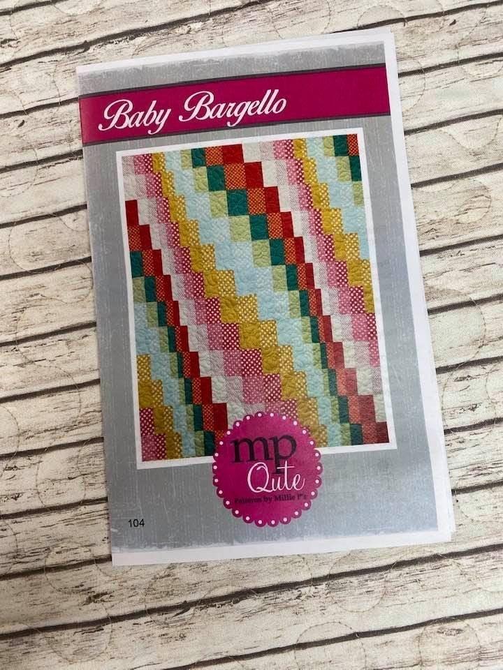 "MP Qute Pattern:  Baby Bargello 43"" x 48"" or 56"" x 61"" *Final Sale*"