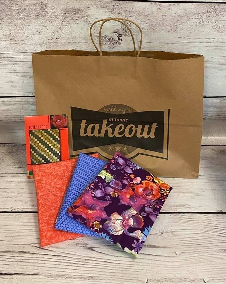 At Home Takeout January 19 - 3 One-Yard Cuts & Pattern