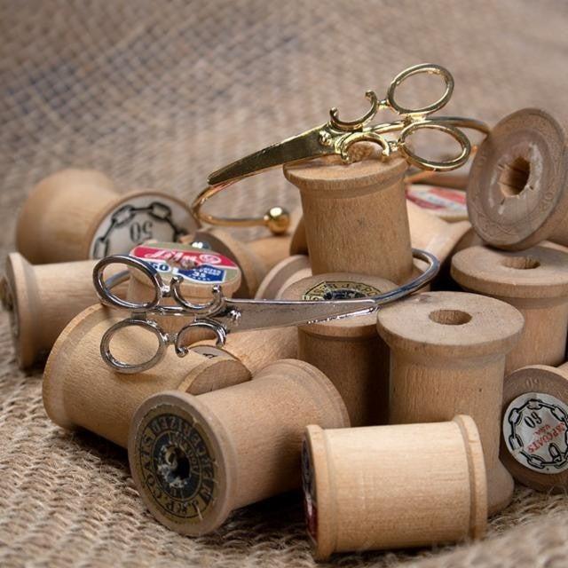 Moda Findings Bangle bracelet Scissor