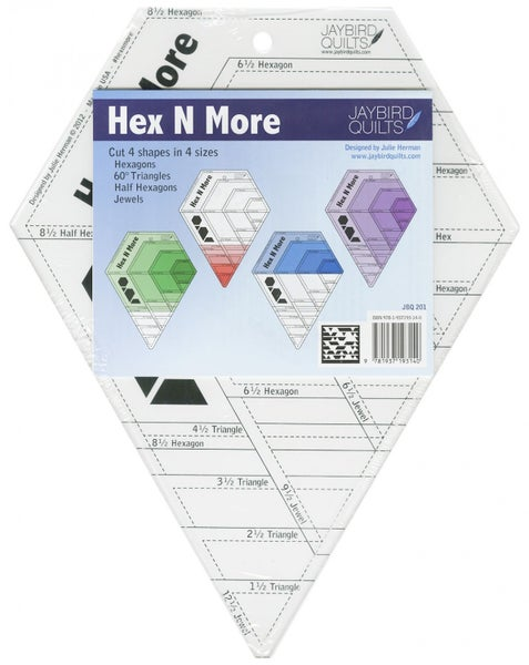 Ruler:  Hex N More