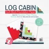 Log Cabin 12in Block Foundation Paper Pad