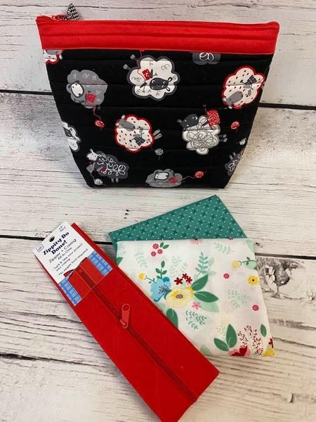 Millie's One Hour Pouch Pouch FLowers