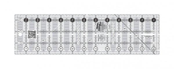 """Non-Slip Quick Trim & Circle Ruler  3.5"""" x 12.5"""""""