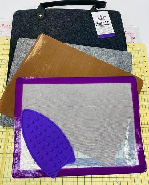 Gypsy Quilter Pressing Kit w/Wool Mat 14x18