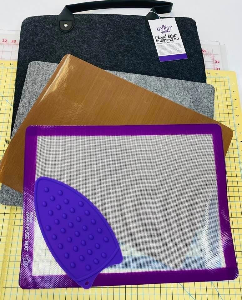 Gypsy Quilter Pressing Kit w/Wool Mat