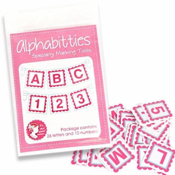 Alphabitties Row/Block Marker   (3 Color Options)