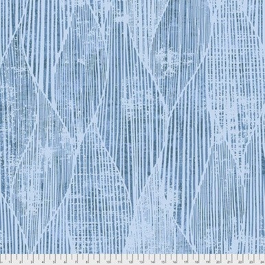 Tim Holtz Wideback Frequency Blue One-Half Yard