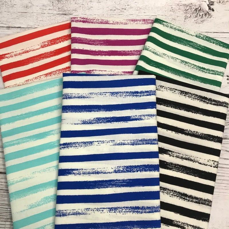 FQ Bundle (6) Ruby Stripes