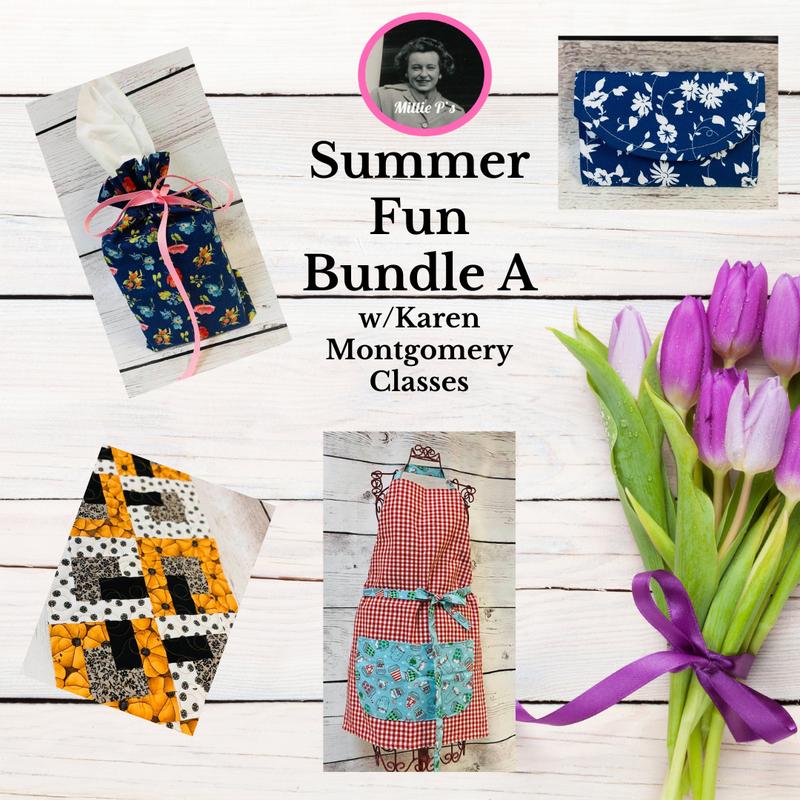 Summer Fun Bundle A w/Karen Montgomery