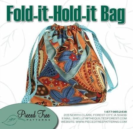 Pattern: Fold-it-Hold-it Bag