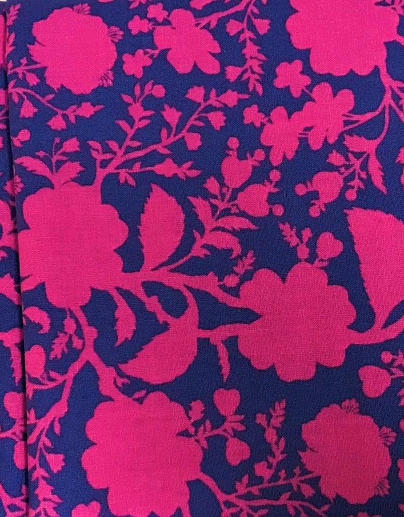 BrightIB Brown Bag Mystery Border - Pink and Purple Tula
