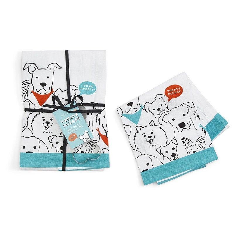Moda Dish Towel Treats  w/Cookie Cutter