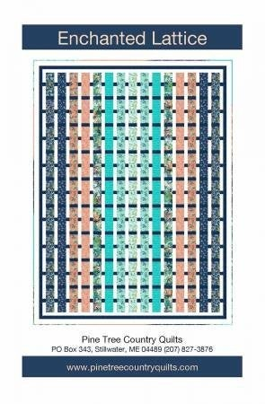 "Pattern:  Enchanted Lattice  (58.5 x 78"")"