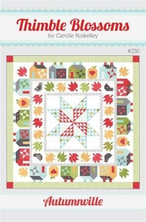"Pattern:  Autumville Quilt 79"" x 79"" *Final Sale*"
