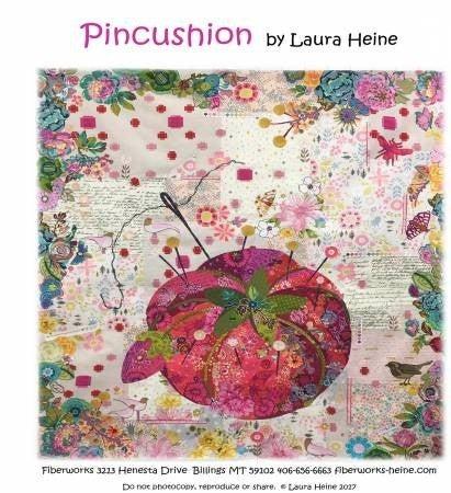 Pattern:  Laura Heine Pin Cushion *Final Sale*