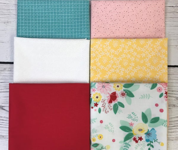Fat Quarter Bundle (6) Springtime Beauty