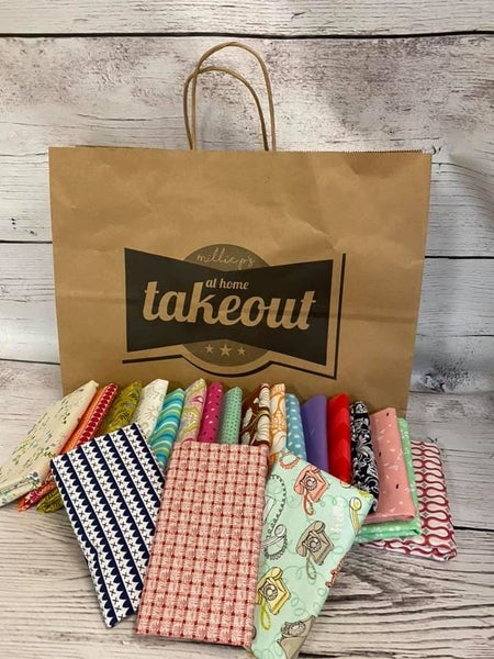 At Home Takeout January 5th - Fat Quarter Bundle (20)