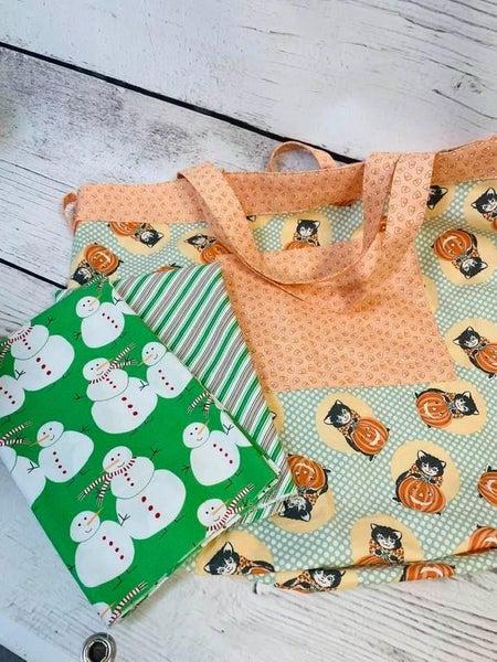 Simple Sack Green Snowmen - Need pattern