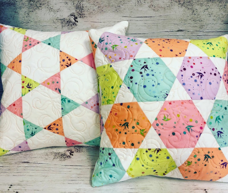 Kit:  Candy Dish Pillow True Colors NEED PATTERN