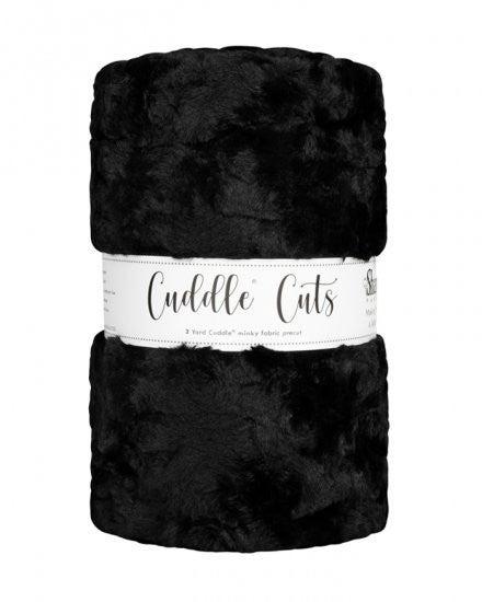 Two Yard Cuddle Cut - Color Black