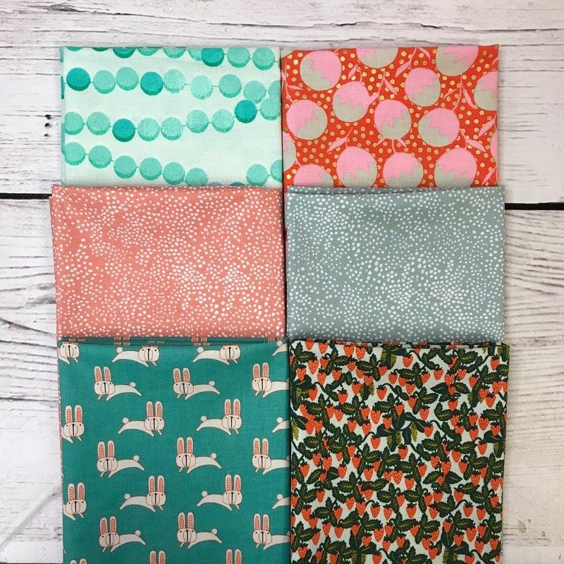 FQ Bundle (6) Peach and Green