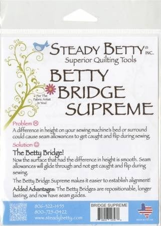 Steady Betty Bridge Supreme
