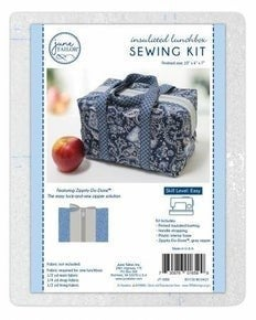 June Tailor Lunch Box Zipper Grey with Yarn