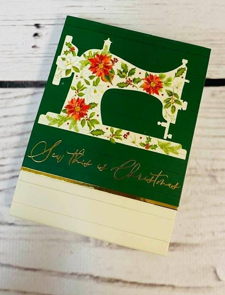 Pocket Notepad: Sew This is Christmas