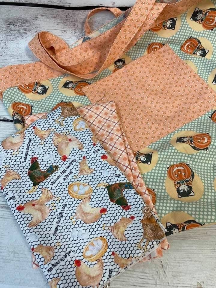 Kit: Simple Sack Rooster White - Need Pattern