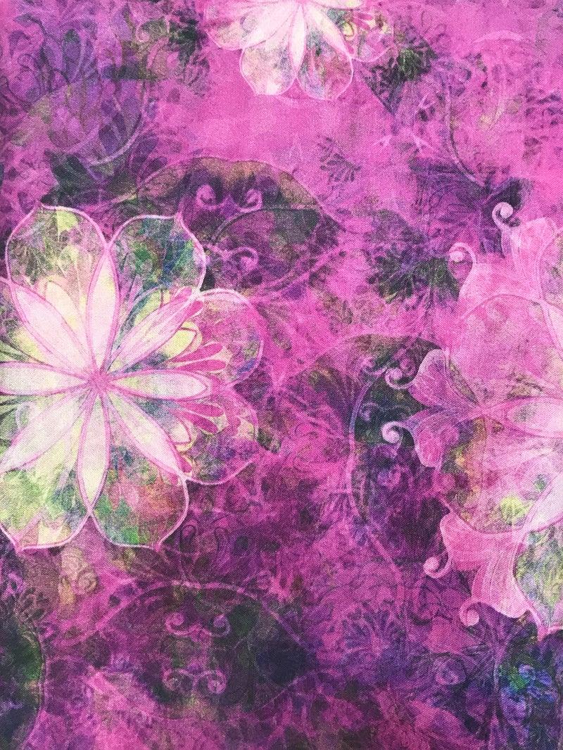 BrightJB Brown Bag Mystery Border - RK Venice Pink