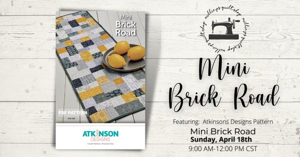 Zoom Class: Mini Brick Road