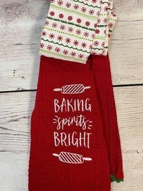 Baking Spirit Bright Scarf