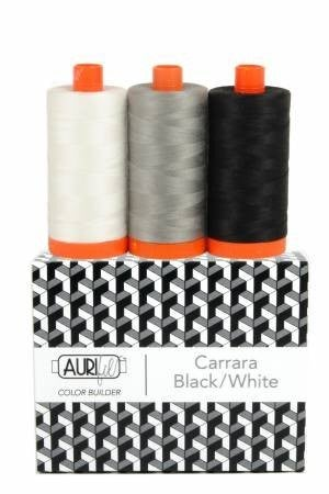 Aurifil Color Builder Black/White/Grey