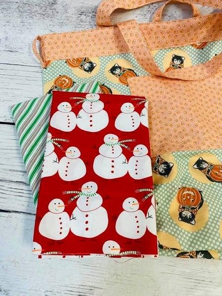 Simple Sack Red Snowmen - Need pattern