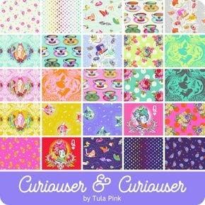 Pre-Order (Del. May 2021) Tula  Curioser&Curioser Half Yard Bundle (25)