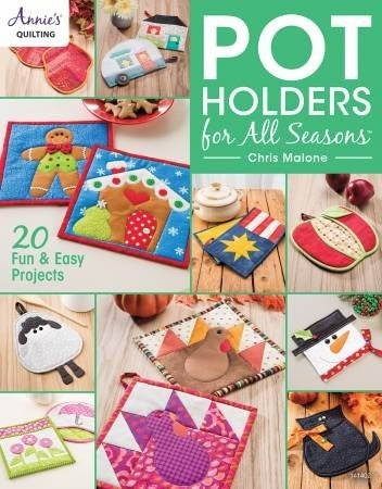 Book:  Pot Holders For All Seasons *Final Sale*