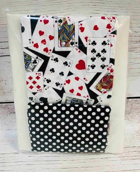 Kit:  One Hour Basket Playing Cards - Black