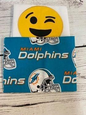 Kit: Emoji Dolphins Towel Cowl (inc. pattern)