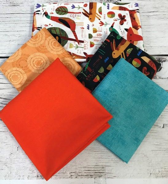 BYOK - Woodland kit (2 1/2 yards fabric)