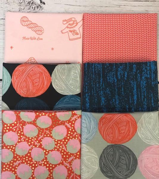 Fat Quarter Bundle (6) Knit and Purl