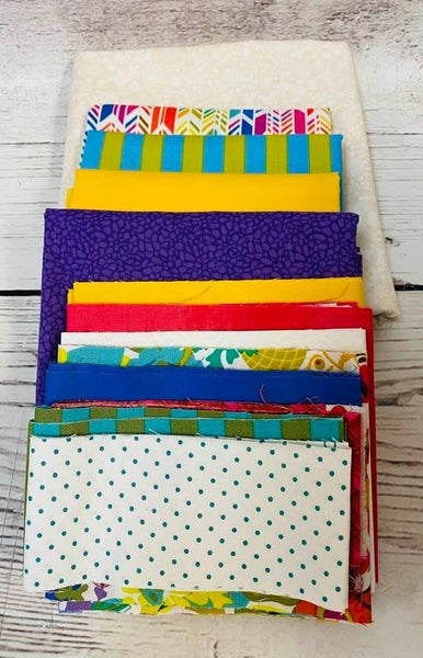 June Tailor Sewing Machine Cover Brights(Includes Batting/ Pattern)