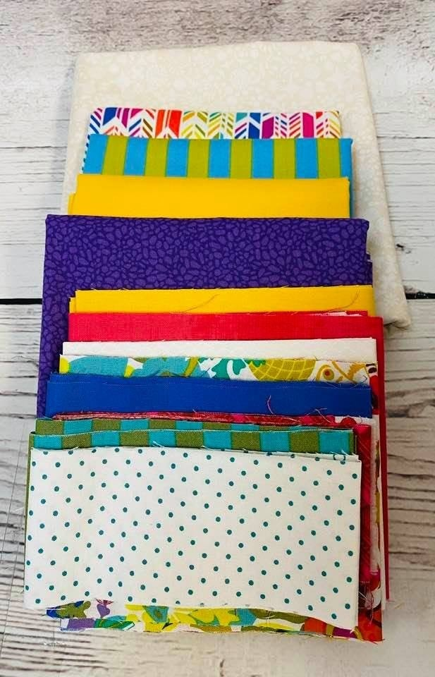June Tailor Sewing Machine Cover Brights(Need Batting Kit)