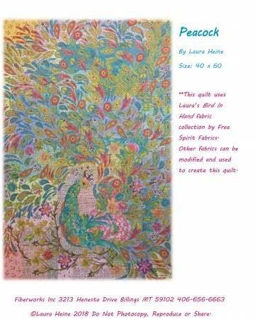 Pattern:  Laura Heine Peacock *Final Sale*