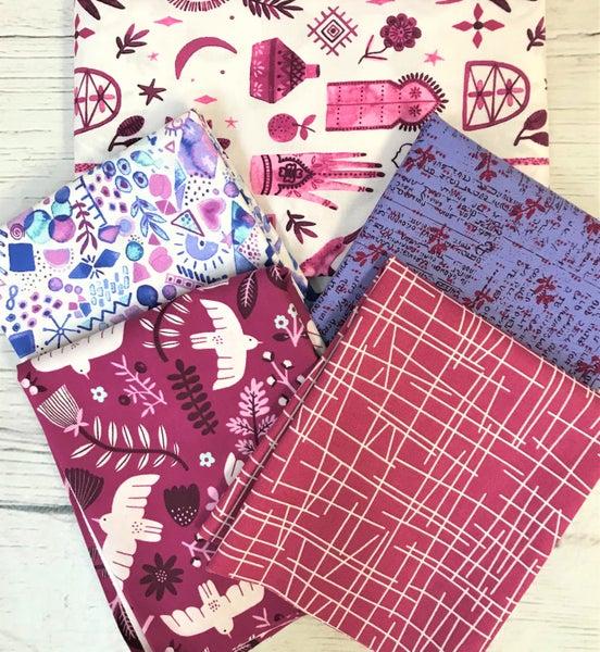 BYOK - Marbella Plum kit (2 1/2 yards fabric)