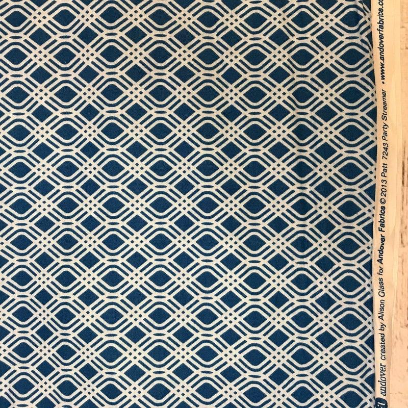 Andover Sun Print Blue (100 x 42)