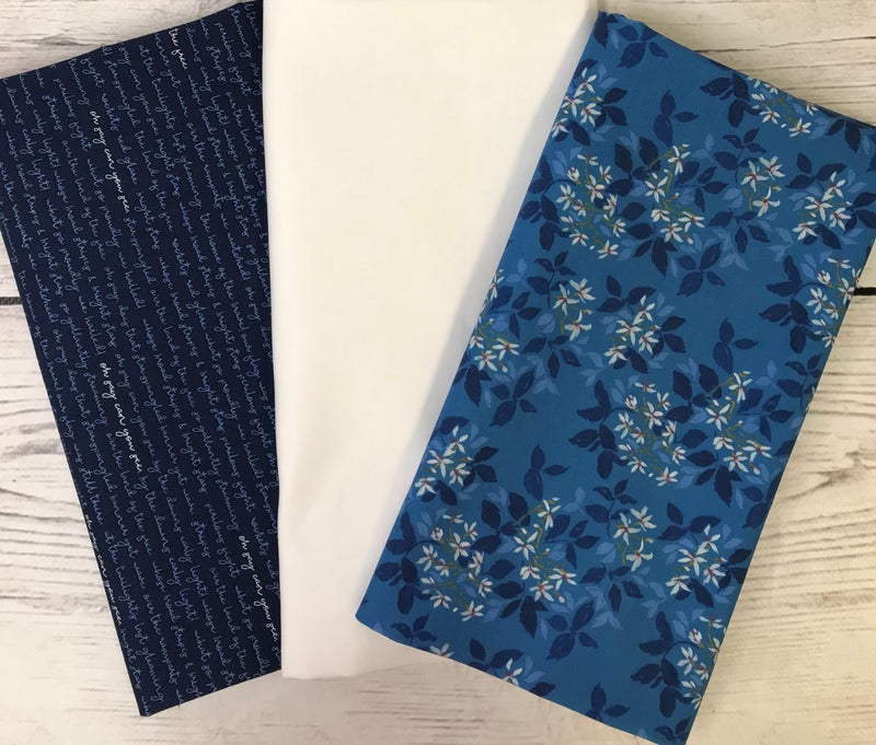 One Yard Cuts (3) - Blue Bonnets