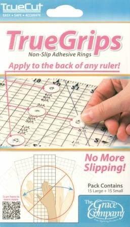 TrueGrips Non-Slip Ruler Adhesive Rings